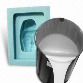 Silicone rubber mold manufacturing